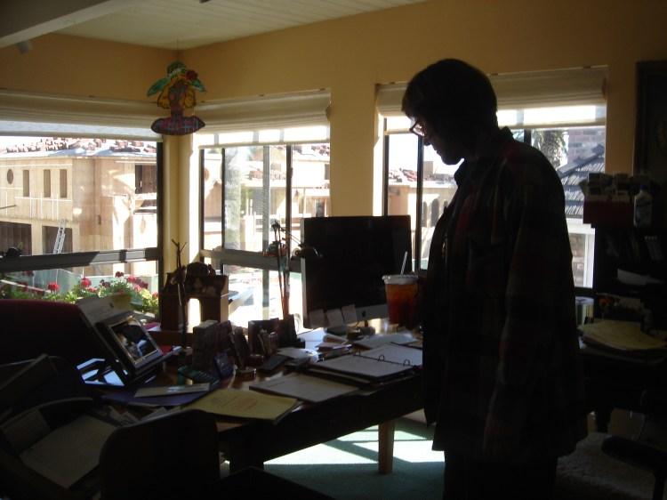 Roberta in her office
