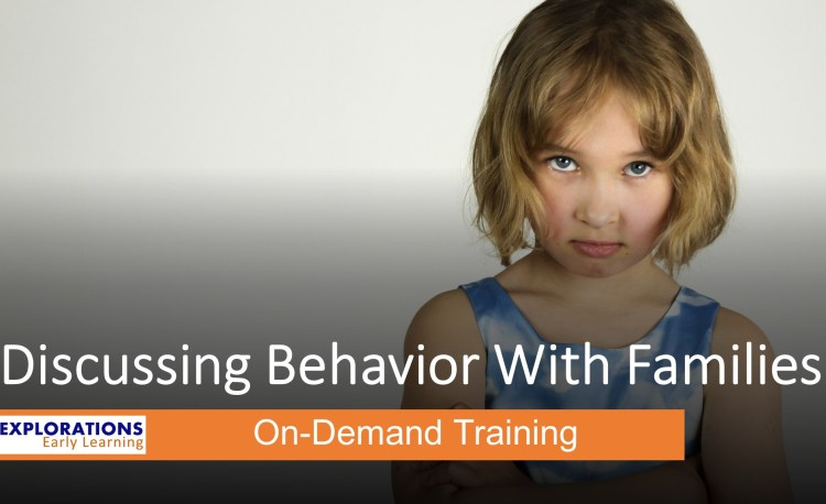 Discussing Behavior With Familiesr