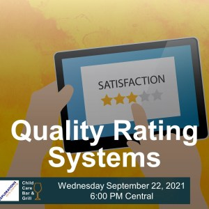 Quality Rating Systems