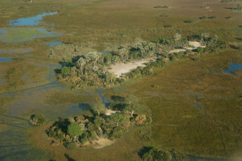 Botswana Okavango - ExplorationVacation - 09-19 aerial3