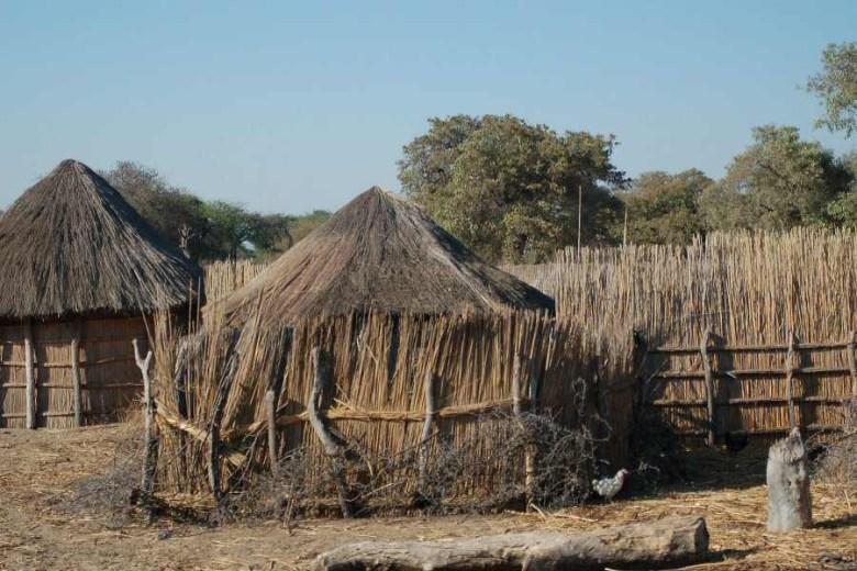 Botswana village - ExplorationVacation - 2005-09-19 delapidated rondeval