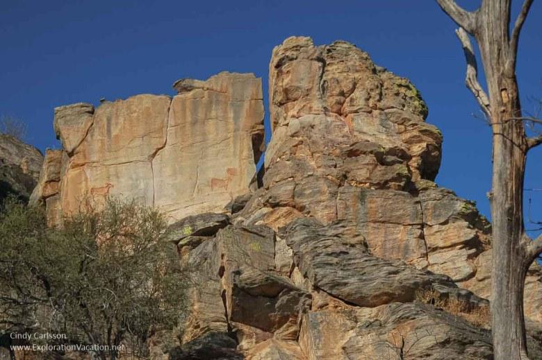 Tsodilo Hills Botswana - ExplorationVacation - 09-16_09-49-44 wall with art