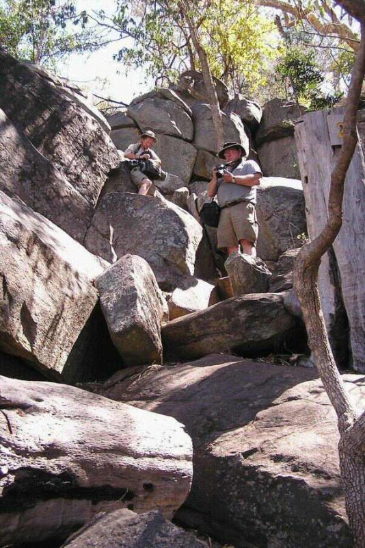 Tsodilo Hills Botswana - ExplorationVacation - P9150033 K and M