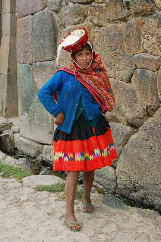 Peru - ExplorationVacation 2006-01-01_12_25_13 local woman