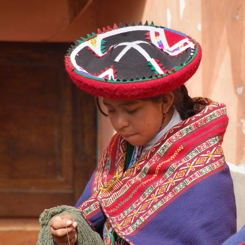 Weaving in Peru - ExplorationVacation 2006-01-01_09_23_57