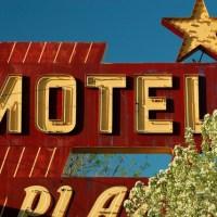 motel sign in East Grand Forks Minnesota