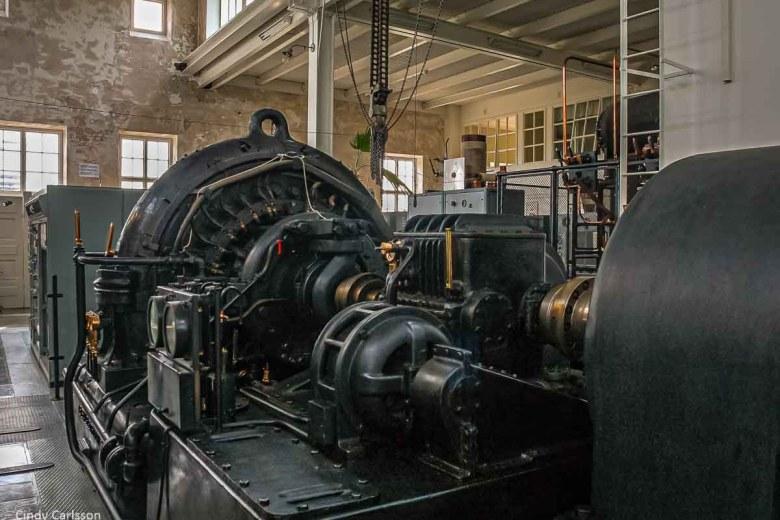 Equipment in Grimeton Radio Station, a UNESCO World Heritage site in Varberg, Sweden - ExplorationVacation