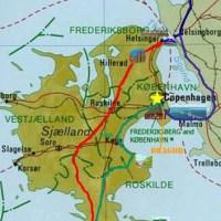 Map of Copenhagen spring itinerary - ExplorationVacation.net