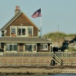 beach house along Cape Cod Bay