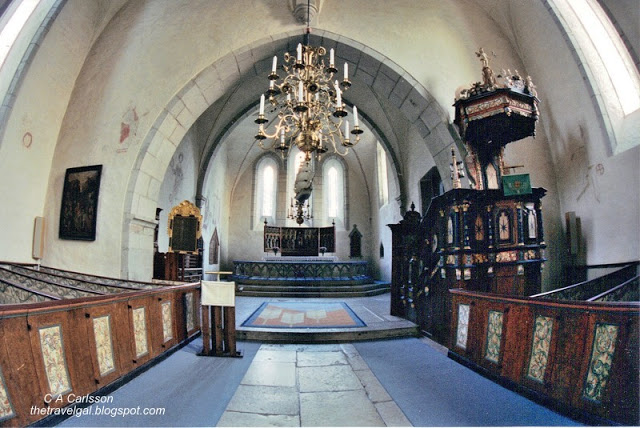 medeival church Gotland, Sweden - www.ExplorationVacation.net