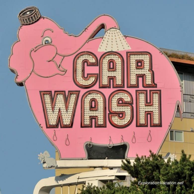 The Pink Elephant Car Wash