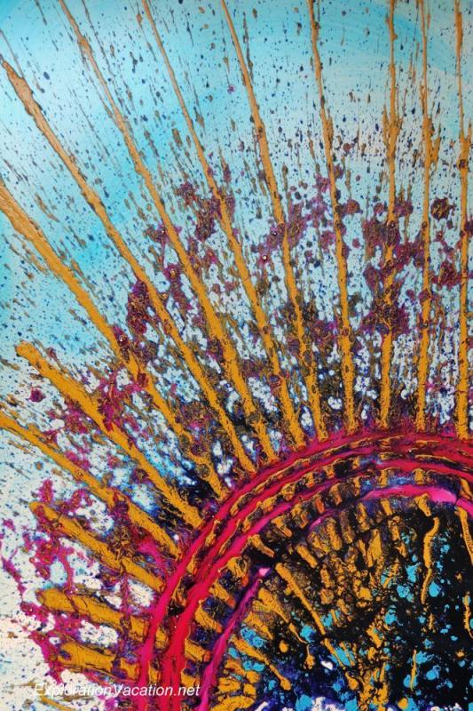 Chihuly painting