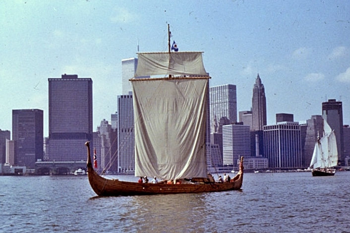 Hejmkomst in New York Harbor (Historical and Cultural Society of Clay County)
