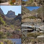 Tucson canyon collage