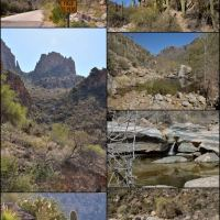 Tucson canyon collage