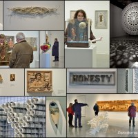art at the Nash Gallery collage
