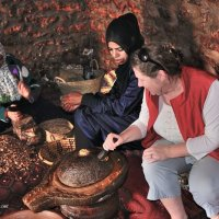 At the Argan Cooperative, Morocco