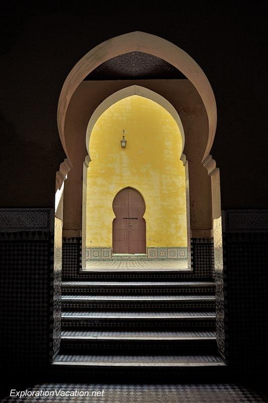 Mausoleum of Moulay Ismael Mekness Morocco DSC_0788