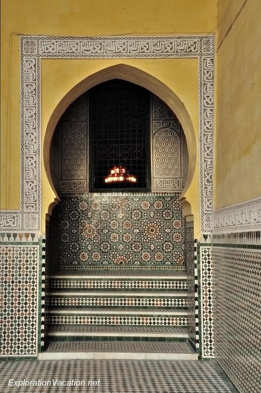 Mausoleum of Moulay Ismael Mekness Morocco DSC_0798