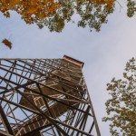 Lookout tower in Kathio Mille Lacs State Park