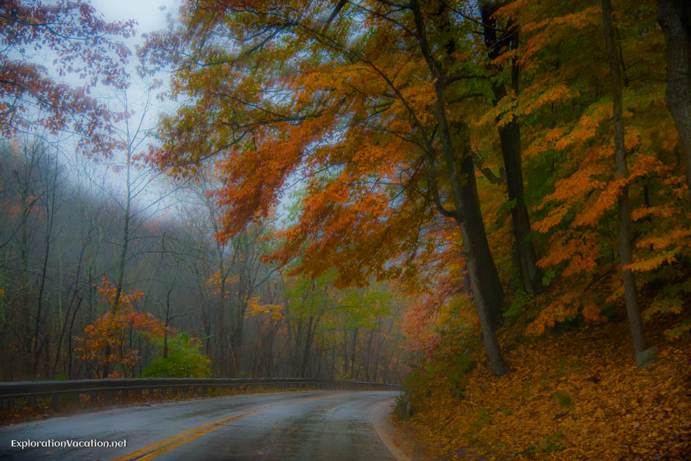 The End of Fall in New Hampshire (in the Rain)