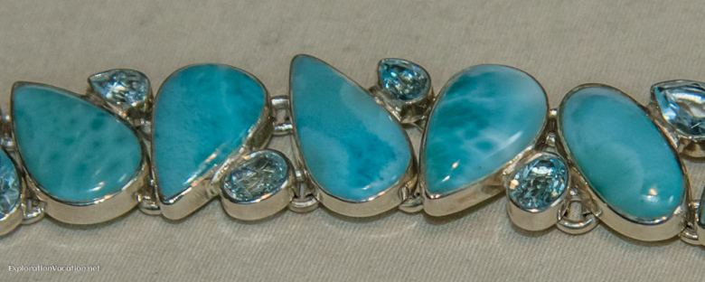 Larimar bracelet - ExplorationVacation.net