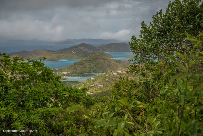 viewpoint on St John - ExplorationVacation.net
