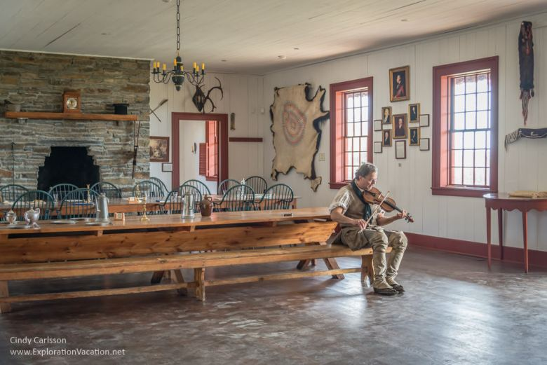 fiddler in the Great Hall Grand_Portage_Minnesota_ExplortionVacation_