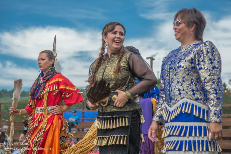 jingle dress dancers Grand Portage Powwow