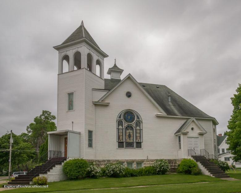 Methodist Church in West Concord Minnesota