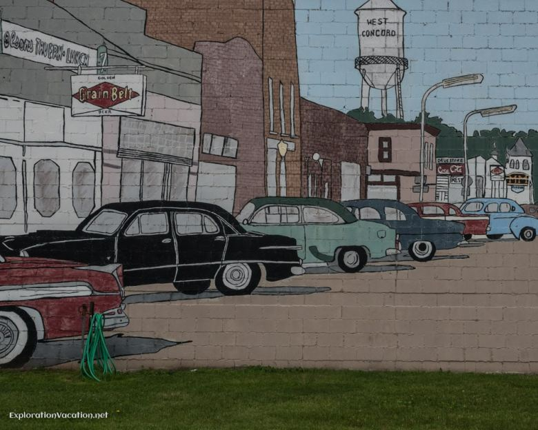 West Concord Minnesota mural