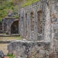 Annaberg sugar mill ruins St John