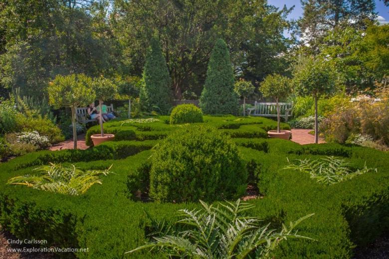 knot gardens New York Botanical Garden NYC