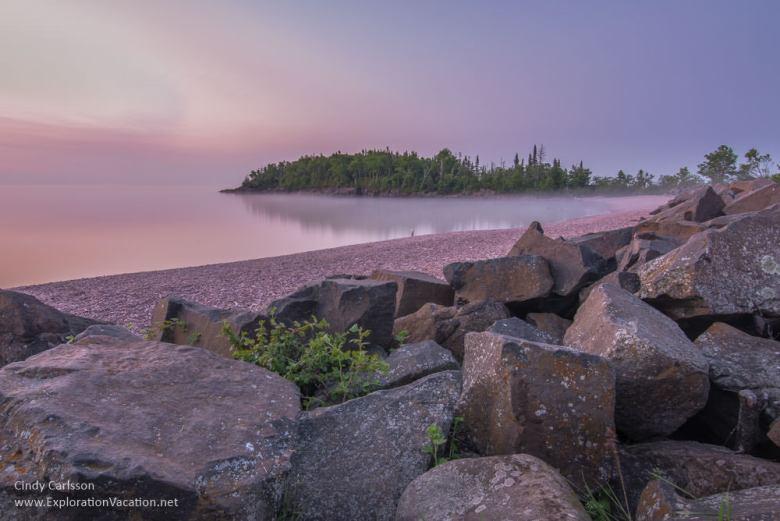 sunrise along the beach