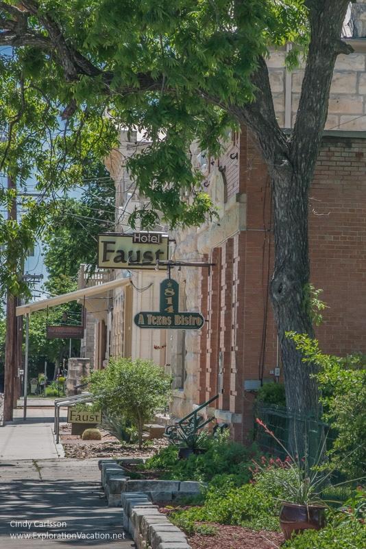 street scene Comfort Texas Hill Country - ExplorationVacation.net