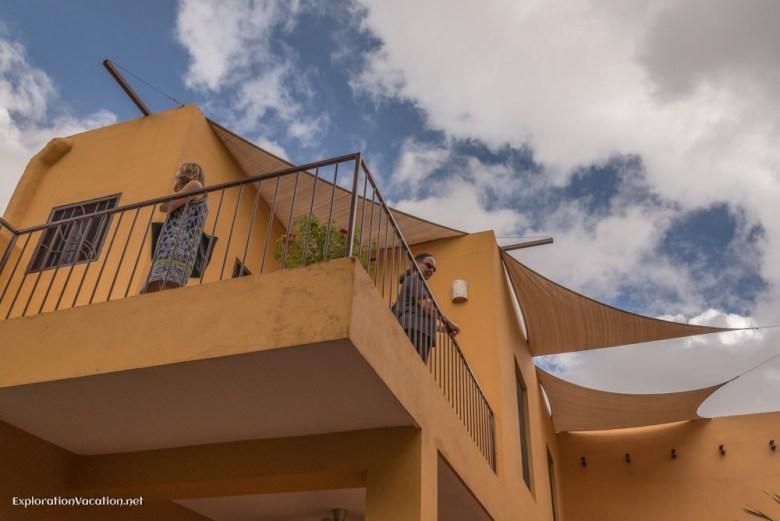 upper level decks - house tour in Merida