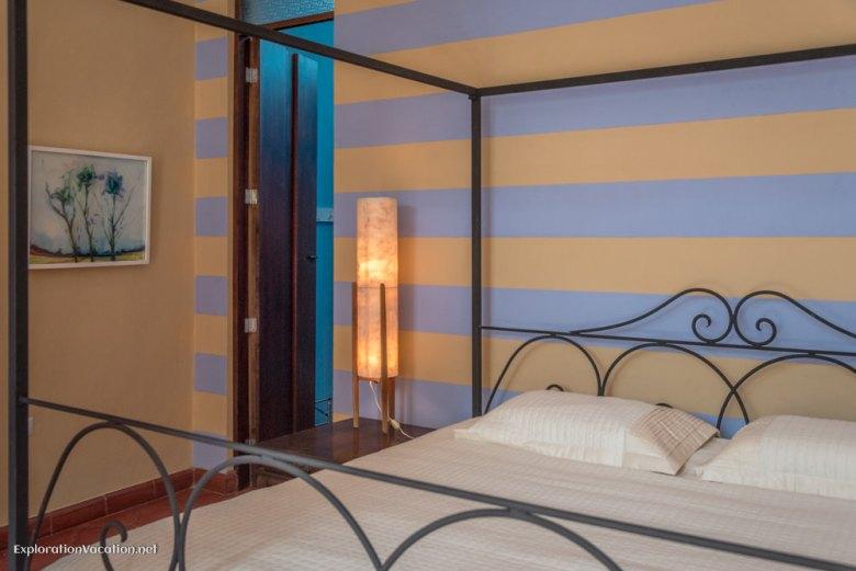 master bedroom house tour in Merida