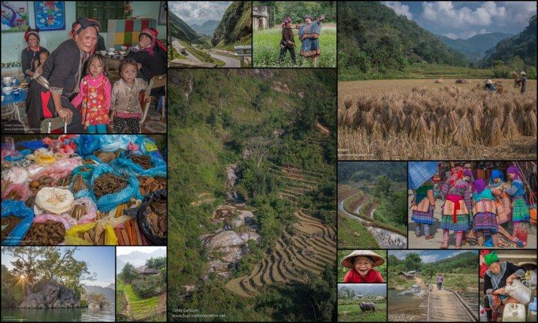 Northern Vietnam collage