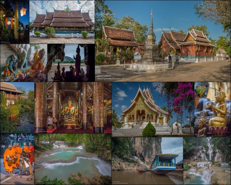 Luang Prabang collage