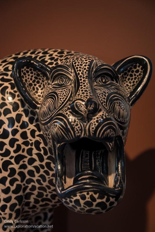 carved jaguar