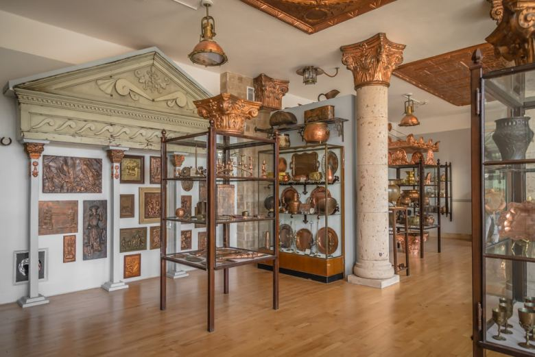 decorative arts at the Arizona Copper Musuem