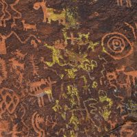 V Bar V petroglyphs Arizona