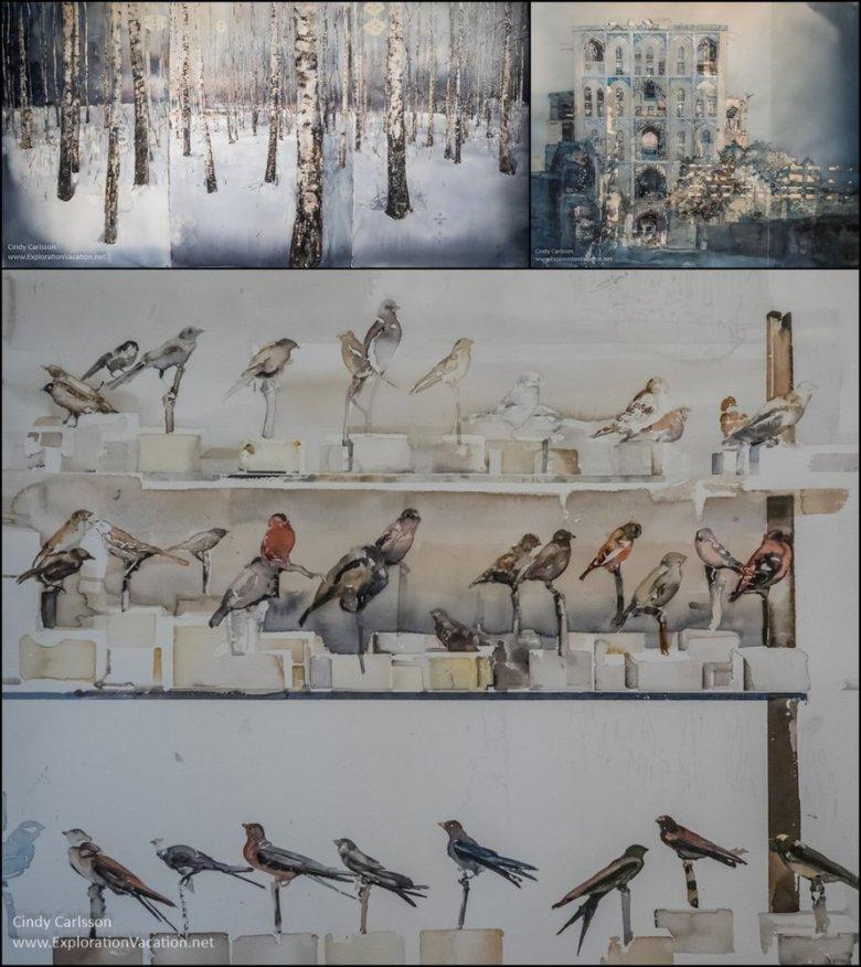 Lars Lerin watercolors - ExplorationVacation.net