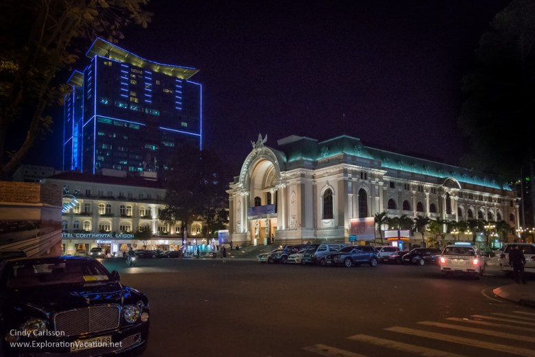 Opera House Nguyen Hue in Saigon Vietnam - ExplorationVacation.net