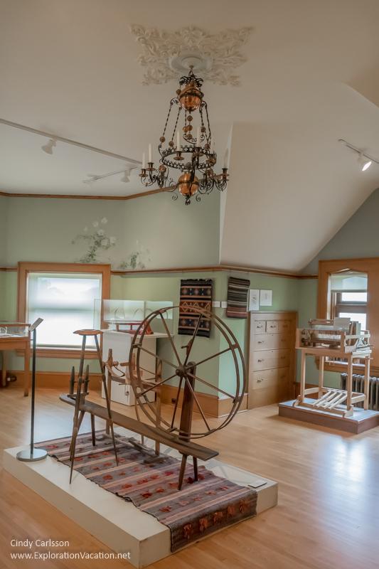 textile display American Swedish Institute Minneapolis Minnesota - ExplorationVacation.net