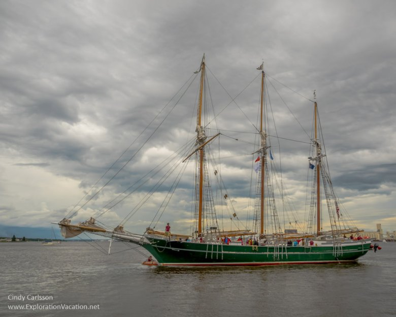 Duluth Tall Ship Festival - Schooner Denis Sullivan - www.ExplorationVacation.net