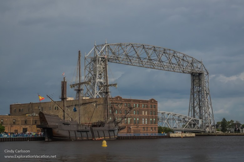 Duluth Tall Ship Festival El Galeon Andalucia - www.ExplorationVacation.net
