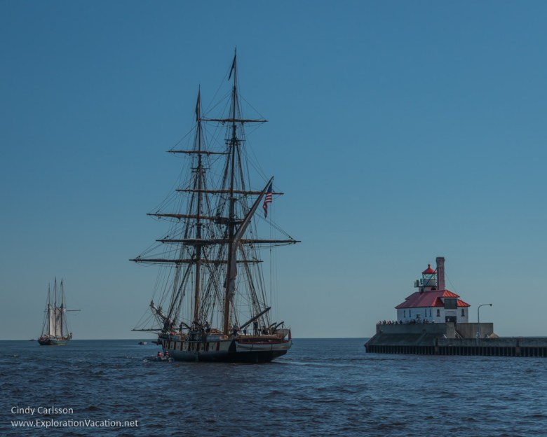 Duluth Minnesota Tall Ship Festival - www.ExplorationVacation.net