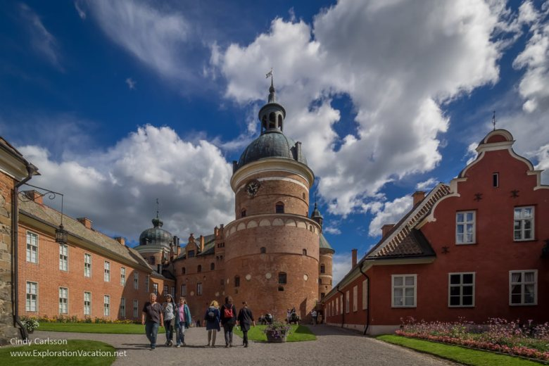 Gripsholm Castle Mariefred Sweden - www.ExplorationVacation.net