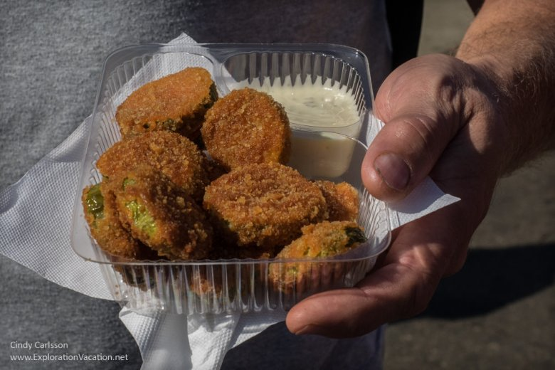 deep fried pickles Minnesota State Fair www.ExplorationVacation.net